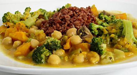 Thai-Style Vegetable Curry