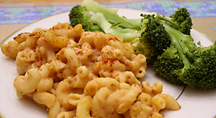 "Baked Macaroni and ""Cheese"""
