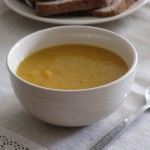 Kohlrabi Carrot and Ginger Soup
