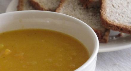 Kohlrabi and Carrot Soup