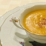 Leek and Sweet Potato Bisque