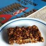 Sweet Sixteen Oatmeal-Raisin Bars are vegan and fat-free. Photo and recipe by Linda Watson, copyright 2012 Cook for Good