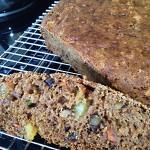 Vegan Garden Harvest Cake