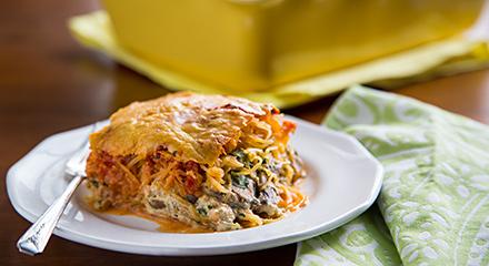 Spaghetti Squash Pest Lasagna