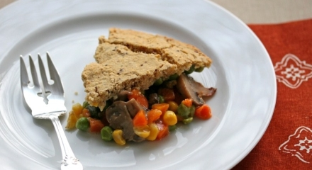 Gluten-Free, Soy-Free Vegetable Pot Pie