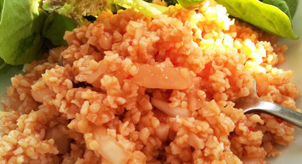Metch - Oil Free Armenian Style Bulgur Salad