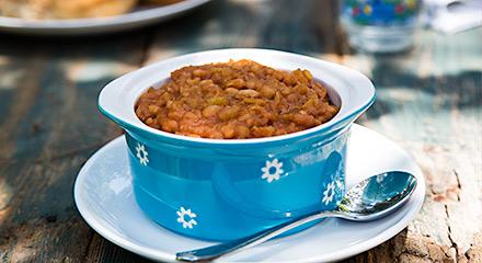 Instant Pot Hawaiian Baked Beans