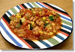 Bean and Vegetable Chili