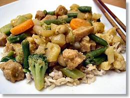 Easy Thai Vegetable Curry