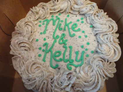 Mike and Kelly cake
