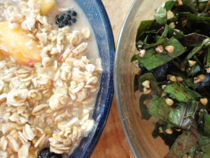 breakfast bowl halves