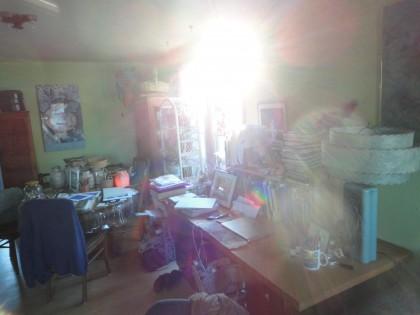 sun in window