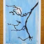 Moon, Tree Branch
