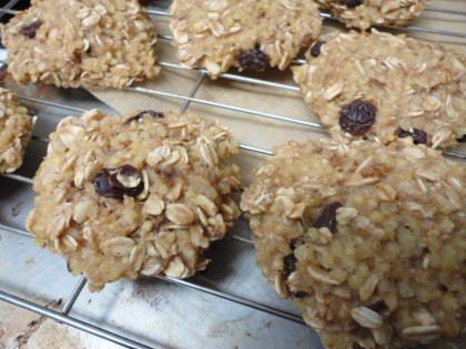 Oatmeal Millet Raisin Cookies 3