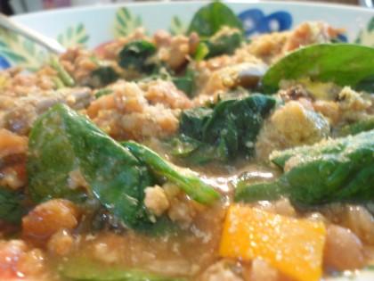 Cold Snap Millet Stew