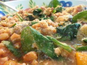 Cold Snap Millet and Lentil Stew