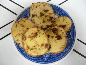 Pizza Seasoned Roasted Potato Slices 2