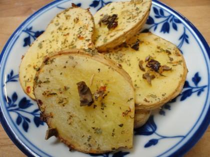 Pizza Seasoned Roasted Potato Slices