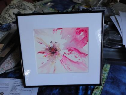 """""""Rose"""" original watercolor by Maria Theresa Maggi"""