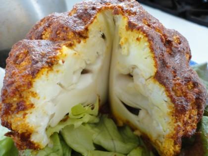 Crown Roast Cauliflower