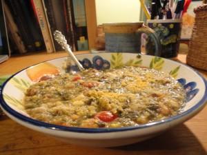 Vegan Polenta Soup 2