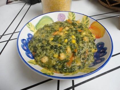 Vegan Polenta Soup