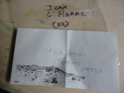 heirloom tomato seeds Jean C Flamme