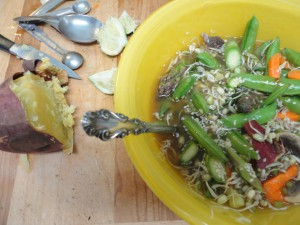 Almost Raw Vegan Pho Yellow Bowl 2