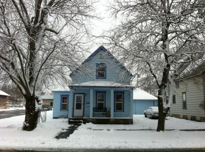 house in snow Dec 24 2012
