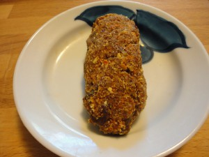Raw Teff Carrot Cake Bars