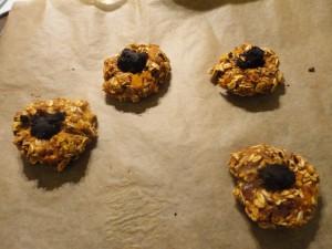 Exceptional Carob Fudge Fingerprint Cookies