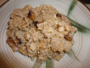Fig and Twig Tea Oatmeal