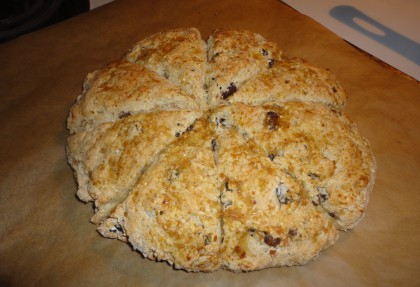 Millet Raisin Scones