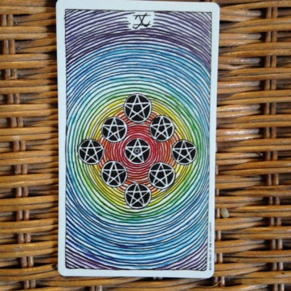 Wild Unknown 10 of Pentacles