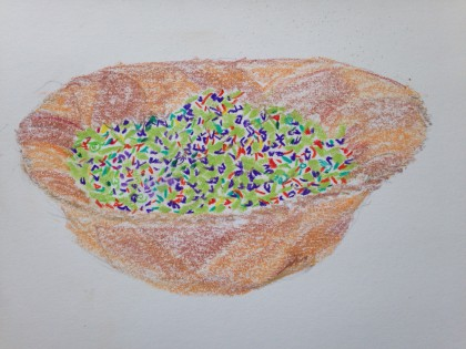 cofetti coleslaw by Maria Theresa Maggi