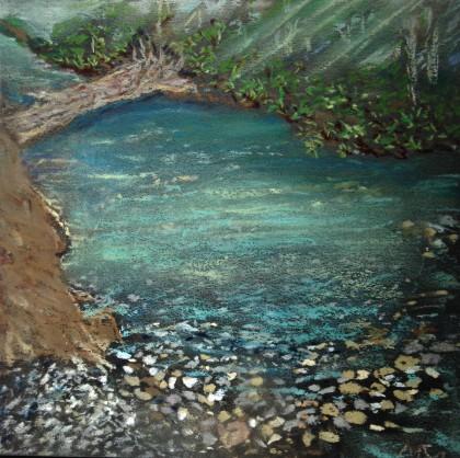 Water's Edge by Maria Theresa Maggi