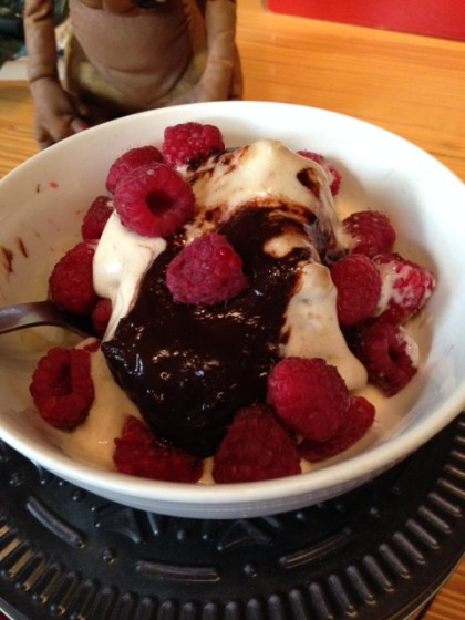 banana sundae ice cream 2