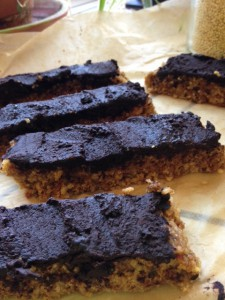 Slow Miracle Millet Butterfinger Bars