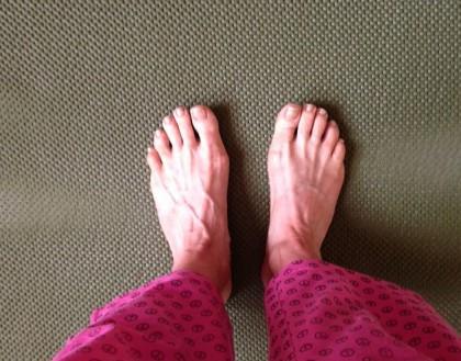 feet like stars