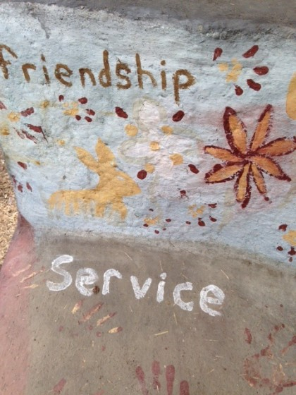 cob bench service friendship