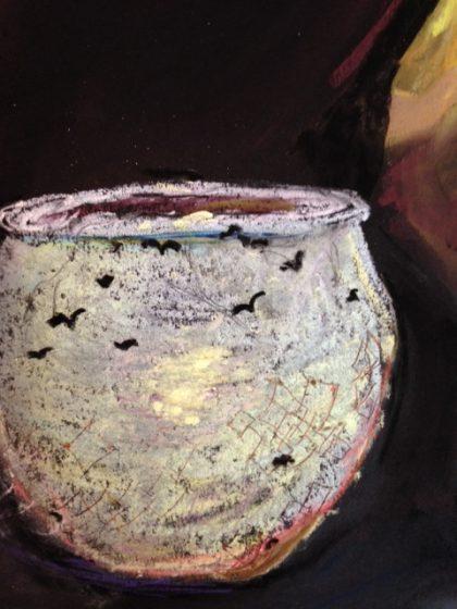 birds-in-flight-on-candlelight