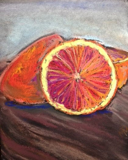 blood-oranges-sketch-by-Maria Theresa Maggi