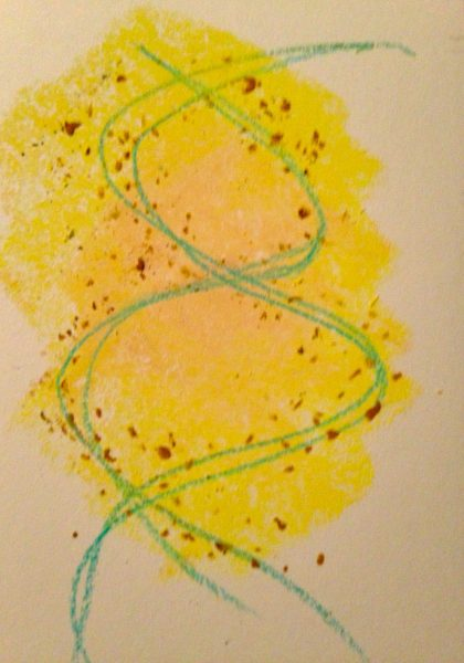 """I Meet My Golden Self"" sketch by Maria Theresa Maggi"