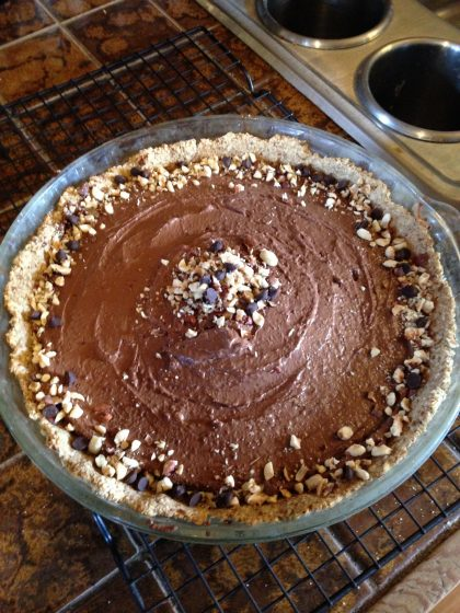 FFVK's Cherry Chocolate Mousse Pie for blog